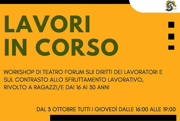 Lavori in Corso: il workshop di teatro forum sui diritti dei lavoratori